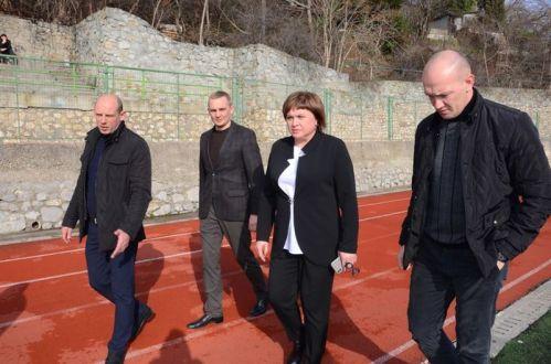 Ялтинский стадион «Авангард» - реконструкция задерживается