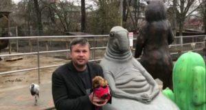 Когда в Крым придёт весна? Сурок Бахчисарайского парка миниатюр Сеня скажет 15 февраля!
