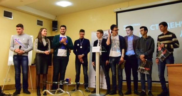 В Симферополе соревновались в мастерстве студенты-ораторы