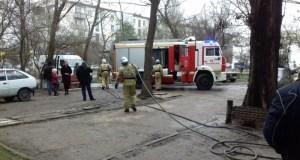 Пожар в Феодосии - пострадал мужчина
