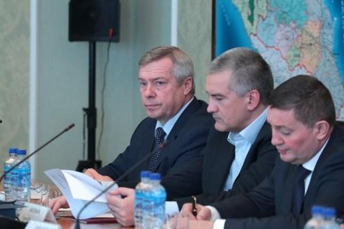 Сергей Аксёнов принял участие в совещании по вопросам национальной безопасности в ЮФО