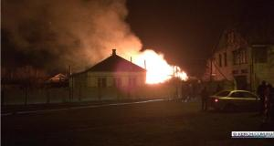 Пожар в Керчи: полностью сгорел дом