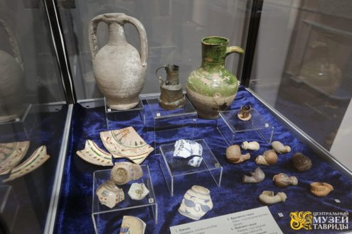 В Центральном музее Тавриды - тайны пещерного города Мангуп