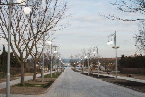 В Севастополе, хоть и с опозданием, но открыли парк имени Анны Ахматовой