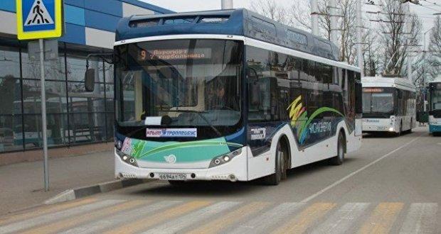 На дороги Симферополя вышел электробус