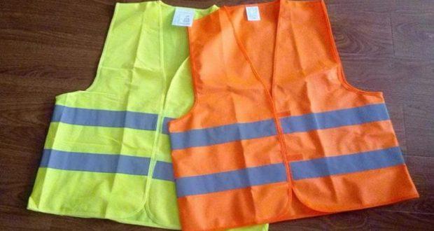 Отныне водители авто обязаны иметь световозвращающие жилеты!