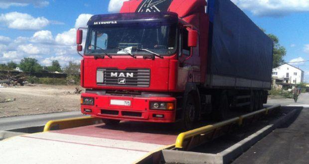 В Севастополе с 4 апреля заработают рубежи весового контроля для грузовиков