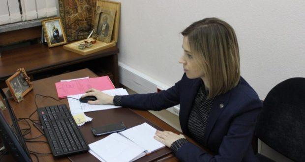 Депутат Госдумы РФ Наталья Поклонская об участии в выборах президента… Украины