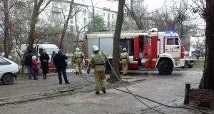 В Феодосии на пожаре спасен человек