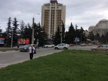 ДТП в Алуште. Столкновение и «перевертыш»