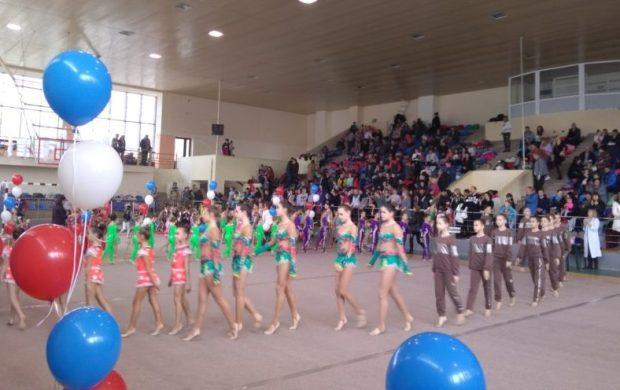 В Симферополе состоялся открытый чемпионат города по эстетической гимнастике и турнир «Весталия»