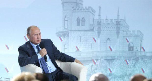 «С ума сошли?» Крым никогда не вернется в состав Украины. Путин сказал