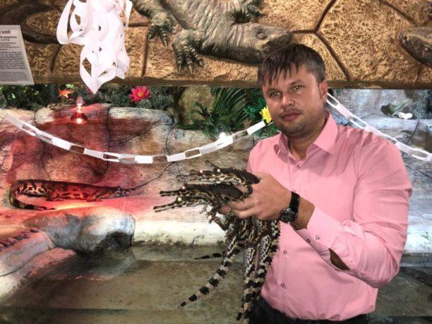 В Ялтинском крокодиляриуме - пополнение. Родителями стали уникальные гавиалы