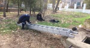 В крымском селе мужчина упал в десятиметровый колодец. Спасатели вытащили