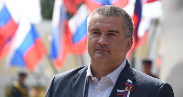 Поздравление с Международным женским днем Главы Республики Крым Сергея Аксёнова