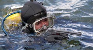 Тренировки противоподводно-диверсионного отряда Черноморского флота
