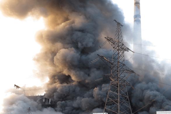ЧП в Севастополе – возгорание на строящейся Балаклавской ТЭС