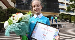 Стотысячным артековцем стала Дарья Пашнина из Челябинска