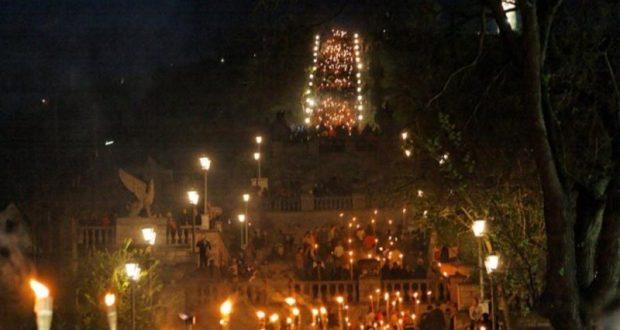 В Керчи в этом году изменили маршрут факельного шествия