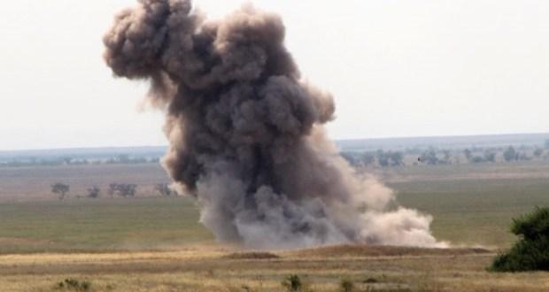 Эхо войны. В районе крымского села Чистополье нашли и обезвредили 36 авиабомб