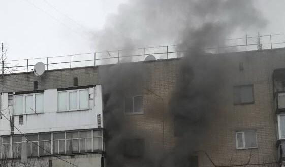 На пожаре в Симферополе эвакуированы 47 человек