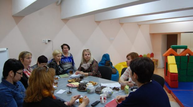 В Севастополе «Особые дети» встречали гостей: «Боевое Братство» и «Доброволец»