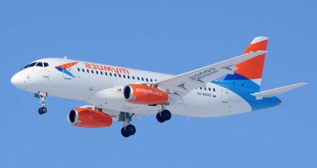 """Авиакомпания """"Азимут"""" начинает перелёты из аэропорта Симферополя"""
