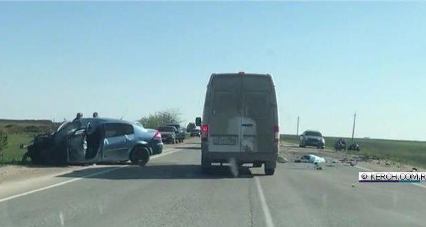 ДТП на трассе Керчь-Феодосия: погиб человек