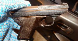 Гражданин Украины пытался провезти в Крым оружие
