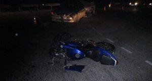 Ночное ДТП в Инкермане. Разбился мотоциклист
