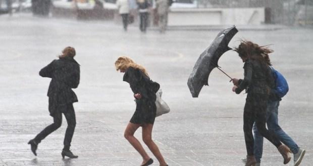 В Симферополе – штормовое предупреждение