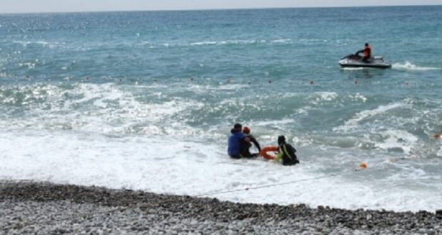 В Коктебеле спасена купальщица