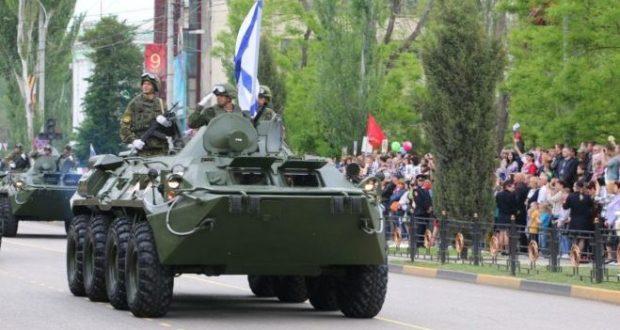 В Керчи - репетиции Парада Победы. Движение транспорта ограничат