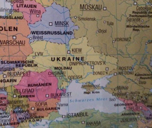"""Германия """"отдала"""" Крым России. Украинцы возмущены"""