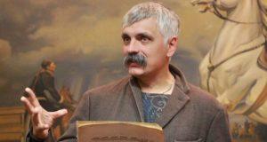 Украинский националист Дмитрий Корчинский мечтает превратить Крымский мост в виселицу