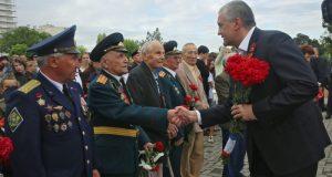 Сергей Аксёнов провёл торжественный приём ветеранов Великой Отечественной войны