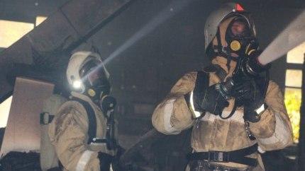 Пожар в Армянске: эвакуировано 36 человек