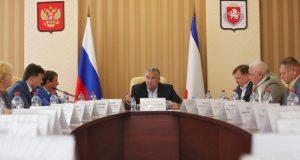 Сергей Аксёнов провёл совещание по работе управляющих компаний в Крыму