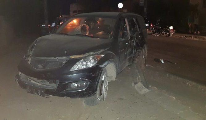 ДТП в Симферополе: пьяный водитель влетел в подстанцию и оставил полрайона без света