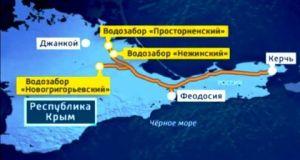 Одна из главных задач крымской власти – обеспечение бесперебойного водоснабжения полуострова