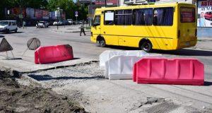В Симферополе почти заделали провал на перекрестке улиц Маяковского и Желябова