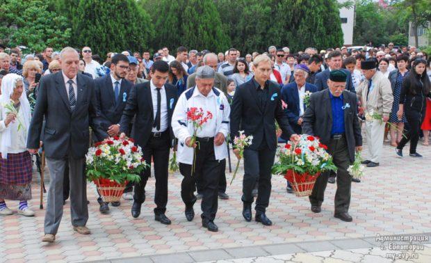 День памяти жертв депортации народов Крыма в Евпатории