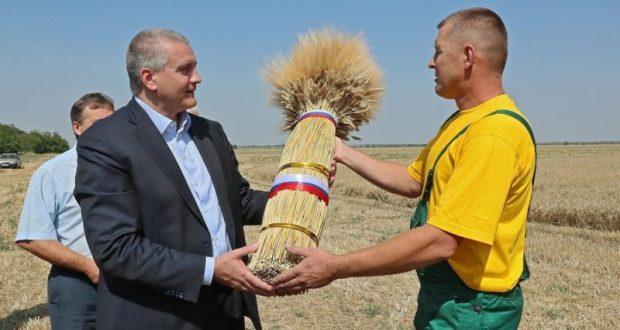 Сергей Аксёнов – за воссоздание коллективных аграрных хозяйств в Крыму