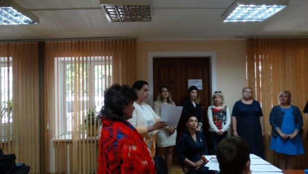 Нотариальная палата Севастополя провела экзамен на прохождение стажировки у нотариусов