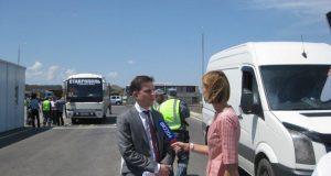 О досмотре транспорта на въездах на Крымский мост