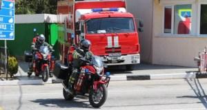 На дорогах Крыма дежурит группа экстренного реагирования МЧС