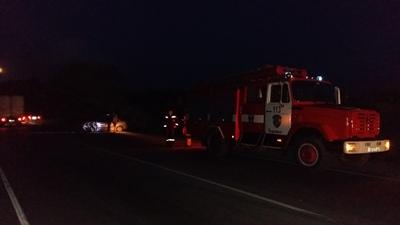 ДТП на трассе Симферополь-Феодосия: не разминулись «Daewoo Sens» и грузовой «МАЗ»