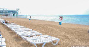 Пляжи Евпатории ждут отдыхающих