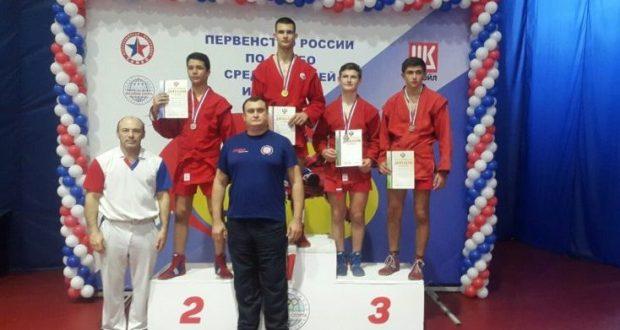 Борец Руслан Соменко из Симферополя - победитель Первенства России по самбо