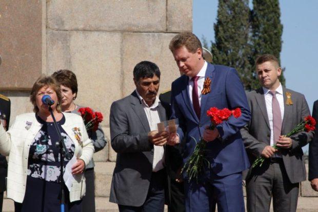На Мемориальном кладбище Севастополя перезахоронили останки советских воинов